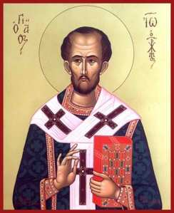 Saint John Chrysostom, Icon